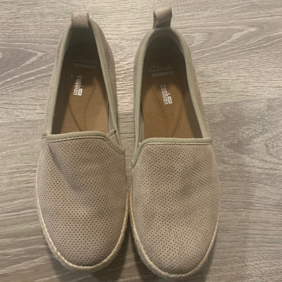 Clarks Shoes   Suede Flats For Sale